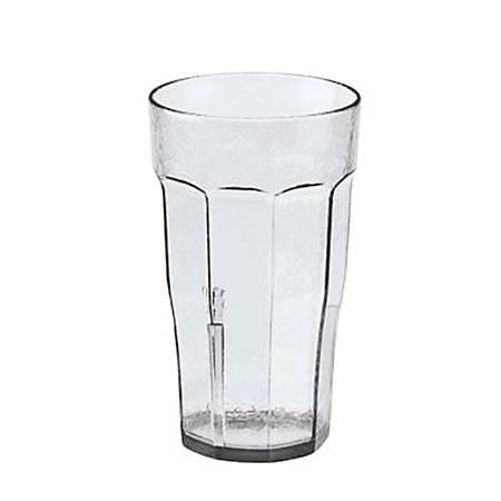 Cambro Laguna® Plastic Tumbler, 22 Oz, Clear