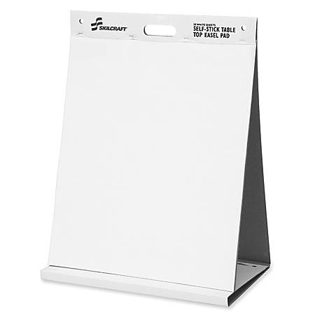 "SKILCRAFT® 70% Recycled Self-Stick Tabletop Easel Pad, 20"" x 23"" (AbilityOne 7530-01-577-2170)"