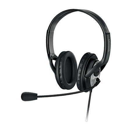 Microsoft® LifeChat™ LX-3000 USB Stereo On-Ear Headset