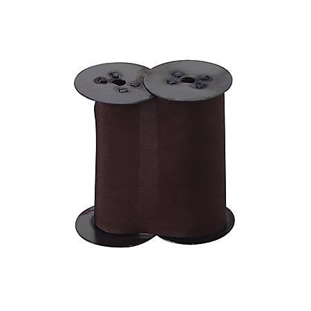 Lathem Print Ribbon For Lathem LTHLTT Time/Date Document Stamp, Purple Silk
