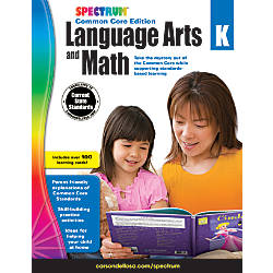 Spectrum Language Arts And Math Common