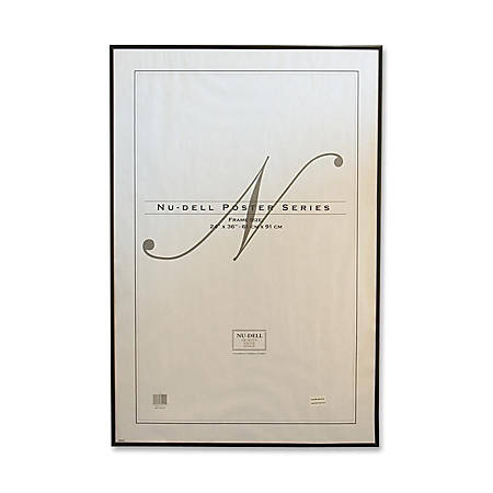"""Nu-Dell Metal Poster Frame, 24"""" x 36"""", Black"""