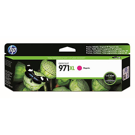 HP 971XL Magenta High-Yield Ink Cartridge (CN627AM)