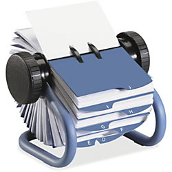 Rolodex business card file 400 card 24 printed a z blue by office rolodex business card file 400 card 24 printed a z blue reheart Images