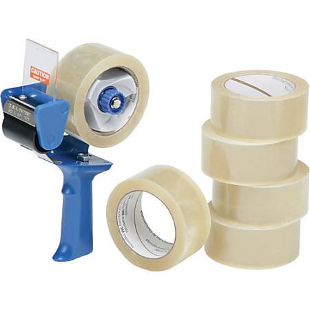 SKILCRAFT® Pistol-Grip Tape Dispenser With Tape (AbilityOne 7510-01-579-6872)