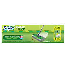 Swiffer Sweep And Trap 30 Green