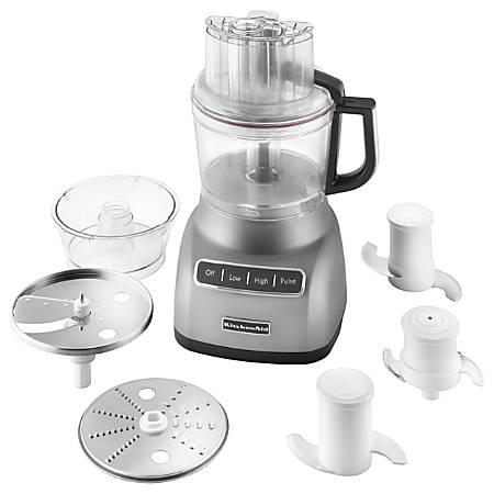 KitchenAid 9 Cup Food Processor Silver