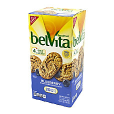 Belvita Blueberry Breakfast Biscuits Pack Of
