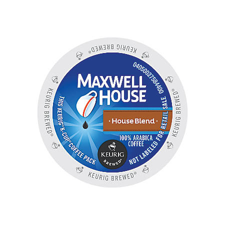 Maxwell House® House Blend Single-Serve K-Cup®, 0.4 Oz, Carton Of 24
