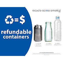 Recycle Across America Refundables Standardized Recycling