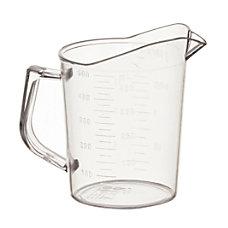 Winco Polycarbonate Measuring Cup 16 Oz