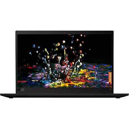 """Lenovo ThinkPad X1 Carbon 7th Gen 20QD0007US 14"""" Ultrabook - 2560 x 1440 - Core i7 i7-8665U - 16 GB RAM - 512 GB SSD - Windows 10 Pro 64-bit - Intel UHD Graphics 620 - Bluetooth"""