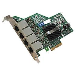 AddOn 101001000Mbs Quad Open RJ 45