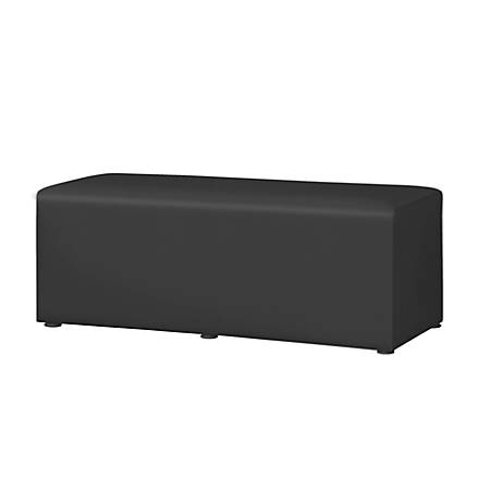 "Marco Rectangle Bench, 18""H, Black"