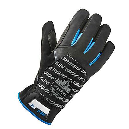 Ergodyne ProFlex 814 Thermal Utility Gloves, X-Large, Black