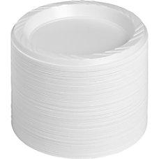 Genuine Joe ReusableDisposable 6 Plastic Plates
