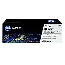 HP 305X CE410X High Yield Black