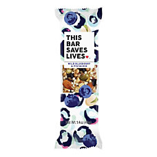 This Bar Saves Lives Wild Blueberry