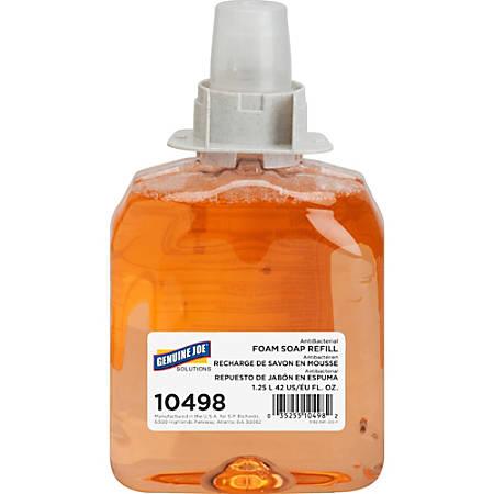Genuine Joe Antibacterial Soap Refill, Orange Blossom, 1250 mL