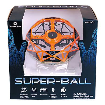 Sky Drones Super Ball Interactive Drone, Orange, SKY-097O