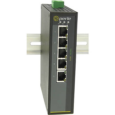 Perle IDS-105G-S1SC20D - Industrial Ethernet Switch - 6 Ports - 2 Layer Supported - Rail-mountable, Wall Mountable, Panel-mountable - 5 Year Limited Warranty