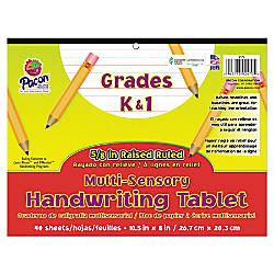 Pacon Multi Sensory Handwriting Tablet Pad