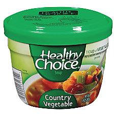 Healthy Choice Soup Country Vegetable 14