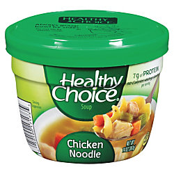 Healthy Choice Soup, Chicken Noodle, 14 Oz, Carton Of 12