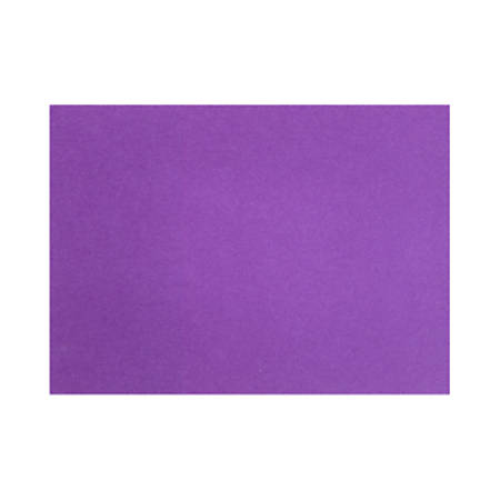 """LUX Flat Cards, A2, 4 1/4"""" x 5 1/2"""", Purple Power, Pack Of 50"""