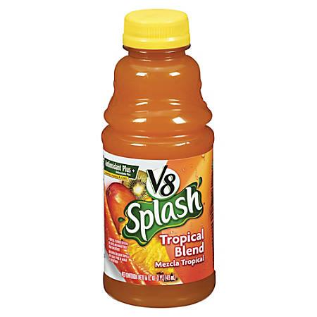 V8® Splash Fruit Juices, Tropical Blend, 16 Oz, Box Of 12