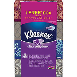 Kleenex Ultra Soft 3 Ply Facial