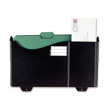 OIC® Grande Central Filing System Add-On Pocket, Black