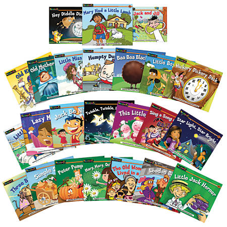 Newmark Learning Rising Readers Fiction Single-Copy Set, Volumes 2 And 3 - Nursery Rhyme Tales, Grade 2