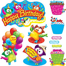 Trend Owl Stars Birthday Bulletin Board