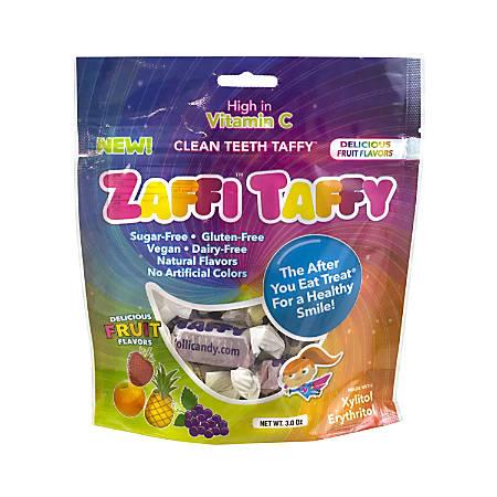 Zollipops Zaffi Taffy, 3 Oz, Pack Of 4