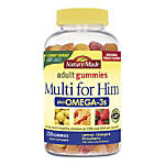 Nature Made Multi + Omega-3 Adult Gummies, For Him, Pack Of 150 Gummies