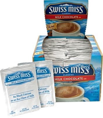 Swiss Miss Hot Cocoa 0.73 Oz Box Of 50