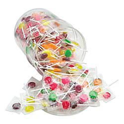 Office Snax Assorted Lick Stix Suckers