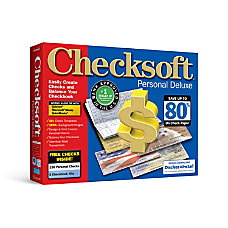 Checksoft Personal Deluxe Landscape Traditional Disc