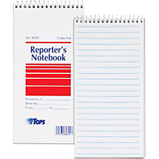 TOPS Reporters Notebooks 4 x 8