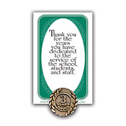3 Years Of Service Lapel Pin