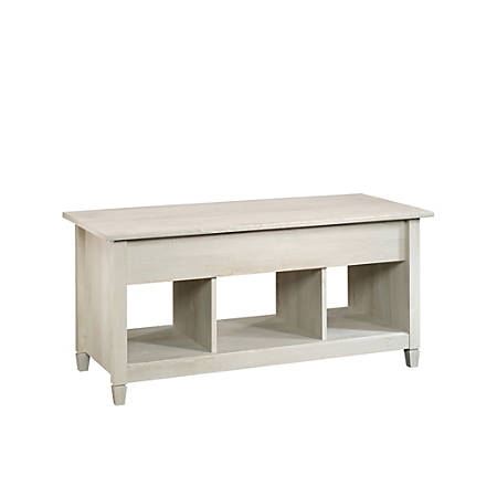 Sauder® Edge Water Lift-Top Coffee Table, Chalked Chestnut