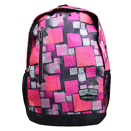 Volkano Two Squared Backpack, Pink