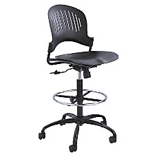 Safco Zippi Plastic Extended Height Chair