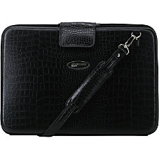 Mobile Edge Large Faux Croc Portfolios