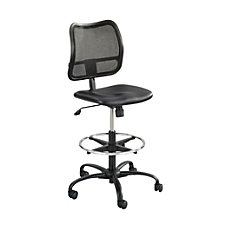 Safco Vue MeshVinyl Chair Black