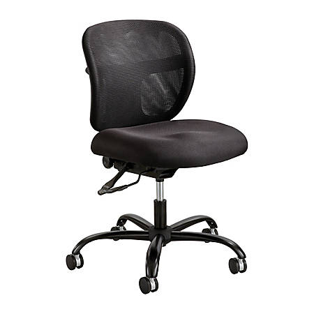 Safco® Vue™ Intensive-Use Mesh Task Chair, Black