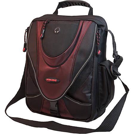 "Mobile Edge 13.3"" Mini Messenger Bag - Black/ Red"