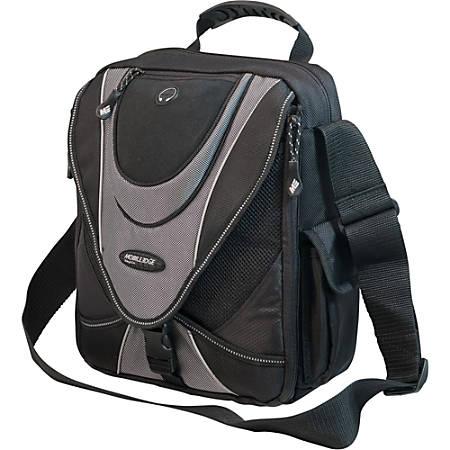 Mobile Edge Messenger Bag, Black/ Silver