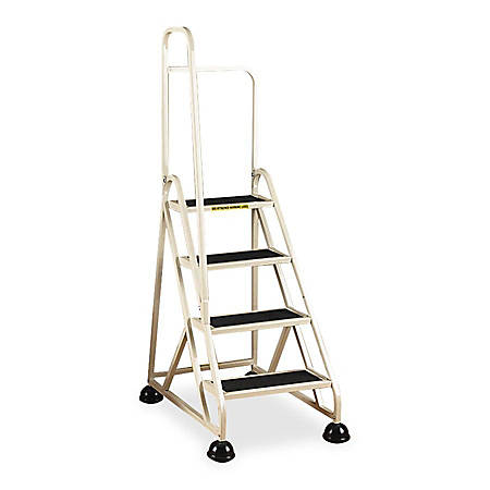 Cramer Stop Step 1041L Aluminum Left Handrail Step Ladder